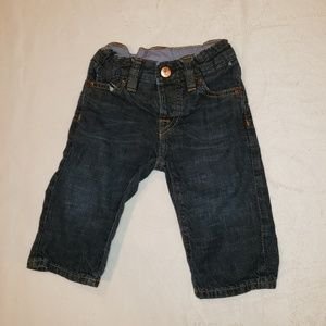 Gap 3-6 month jeans with adjustable waist